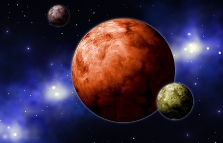 astronautics: extrasolar planets