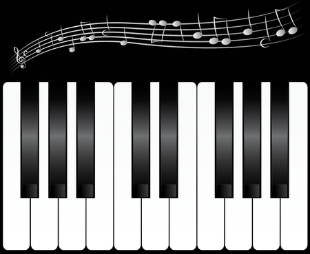 piano keys Stock Photo - 9293504
