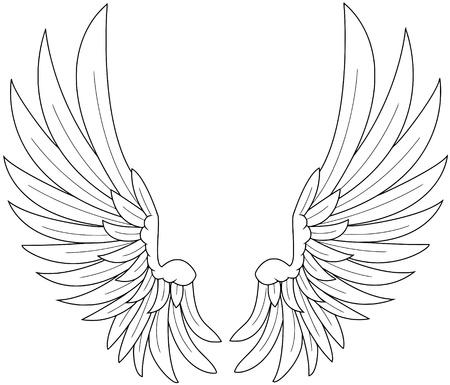 wings Stock Vector - 10596474