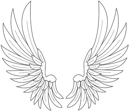 eagle symbol: wings