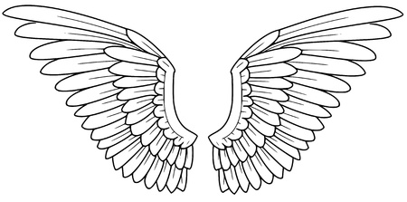 tattoo wings: wings