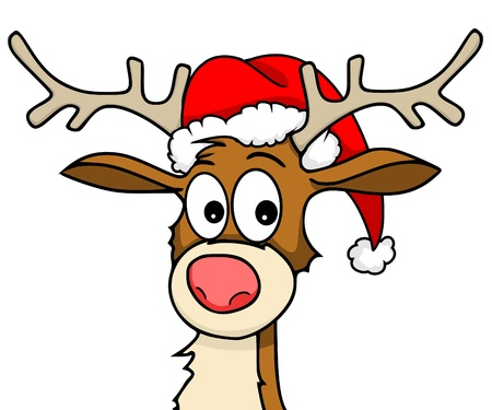 cartoon reindeer: Reindeer