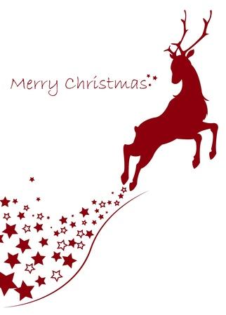 roe deer: merry christmas
