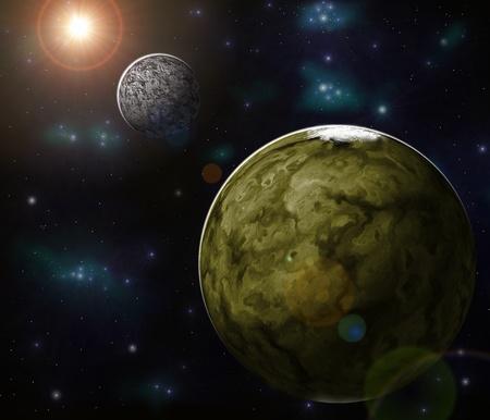 astronautics: extrasolar planet