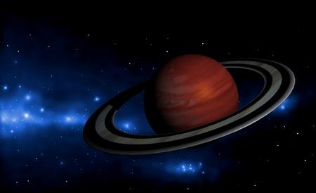 extrasolar planet Stock Photo - 10682764
