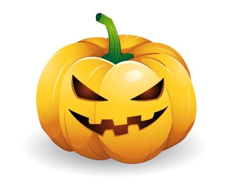 pumpkin head Stock Illustratie