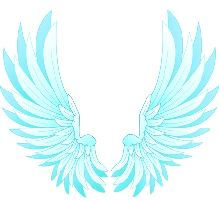 tatouage ange: ailes