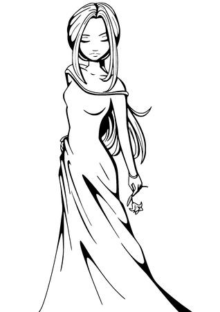 аниме: Женщина