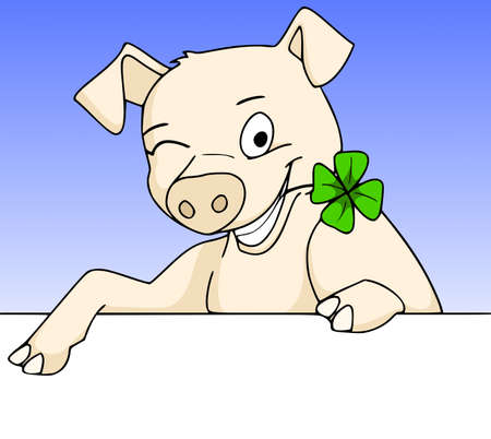 lucky pig Stock Photo - 11261012