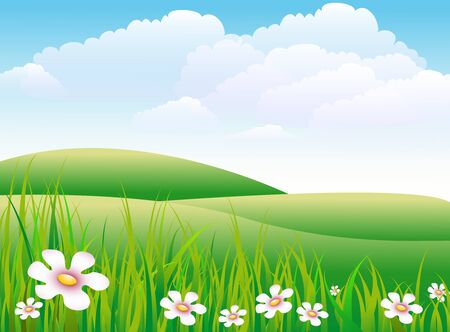 frhling: meadow