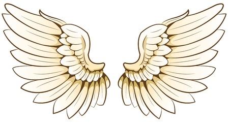 tatouage ange: coulisses