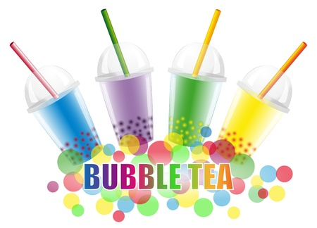 plastic straw: Bubble Tea