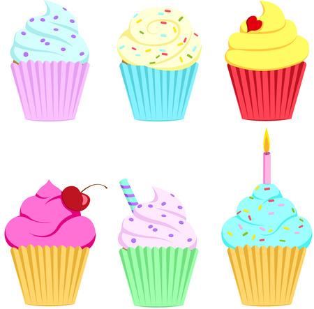 cupcakes Ilustração