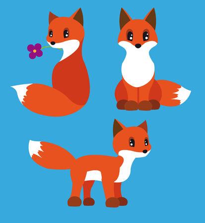 fox-set Ilustração