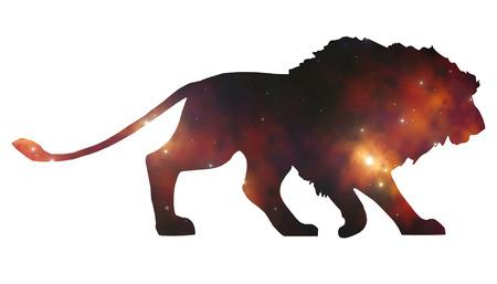 lion silhouette: starlion
