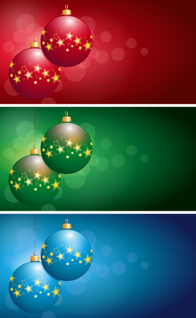 christmas bulbs: Christmas Bulbs Stock Photo