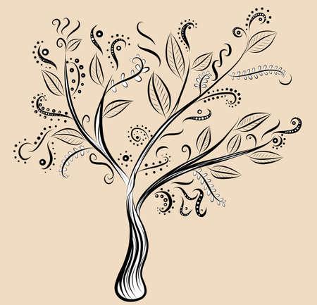 magic tree Çizim