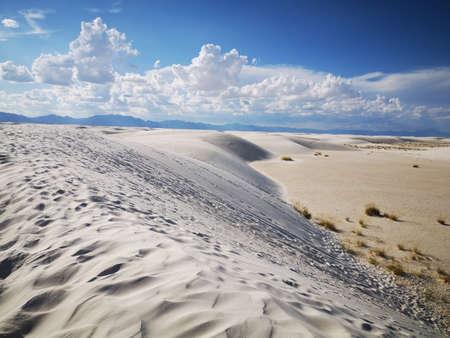 White Sands national monument Stok Fotoğraf