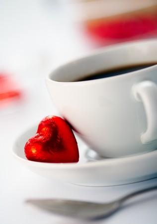 Une tasse de caf�. Banque d'images
