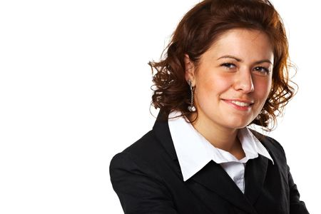 Portrait of a successful young business woman Stock Photo - 5509085