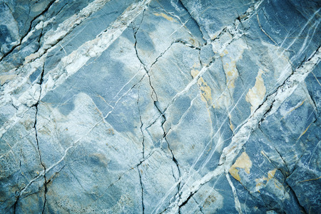 Grey Light Blue Marble Granite Stone slab surface Stock Photo