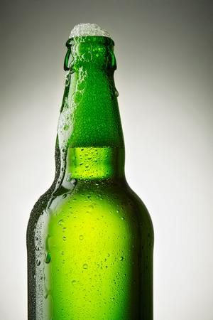 single beer: open bottle of beer