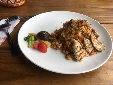 Pan-fried Chicken Stew