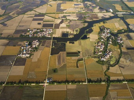 rural pastoral scenery