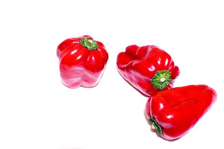 virginity: Red bell pepper