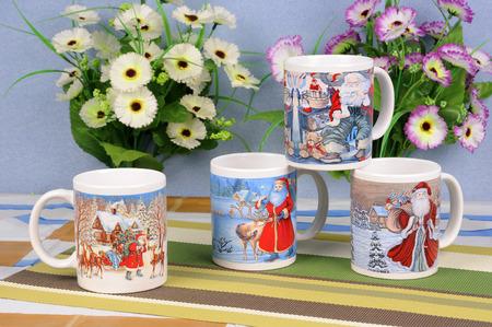 ceramic: Ceramic cup Stock Photo