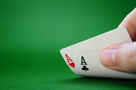 bluff: Not Bluffing  Pocket Aces  Texas Holdem Poker