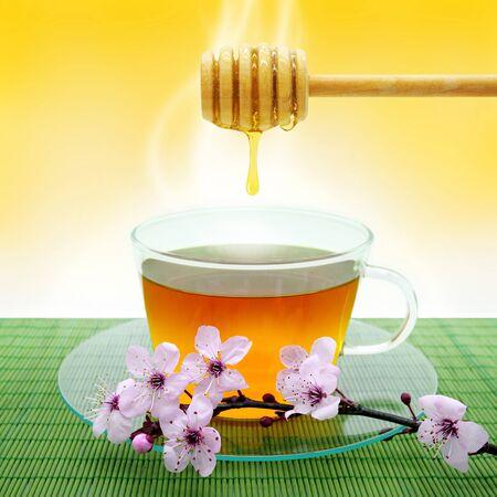 blossom honey: Tea and Honey
