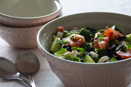 greek salad: Greek salad