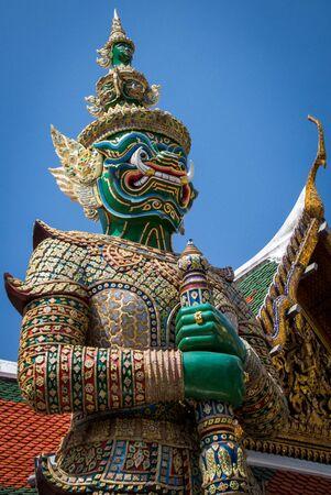 Demon Guardian Grand Palace Bangkok