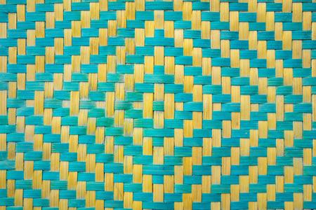 wicker bar: weave texture natural wicker Stock Photo