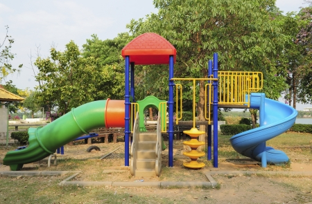 play ground in park of thailand Stock Photo - 18931191
