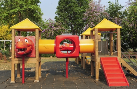 play ground in park of thailand Stock Photo - 18931186