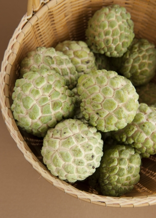 annona: Custard apple background