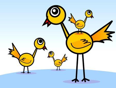 birds s brother family photo