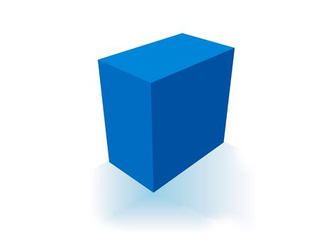ebox: High-res blank box. fill in your own graphic to make this an e-box, e-book, software box or any box of your choice.