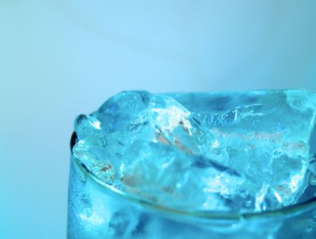 nakedness: Glass of ice water
