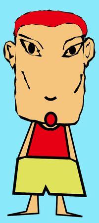 boy character photo