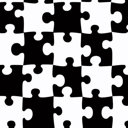 Jigsaw theme  background
