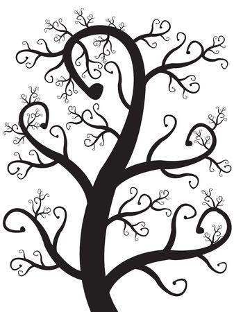 Vector art  & wallpaper fantastic tree