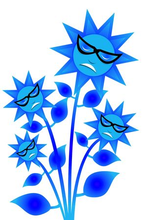 Vector of plant flower photo