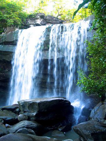 khongjiam: a  photo of   waterfall  in  thailand