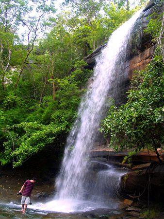 khongjiam: waterfall  in  thailand