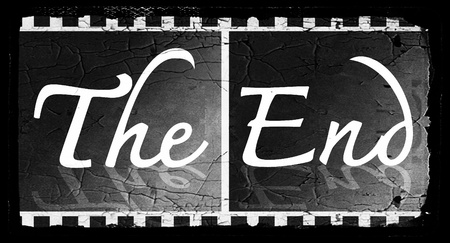 the end Movie ending screen images Stock Photo - 22375843