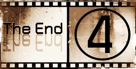 design the ending Movie screen photo