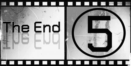 movie screen: design the ending Movie screen